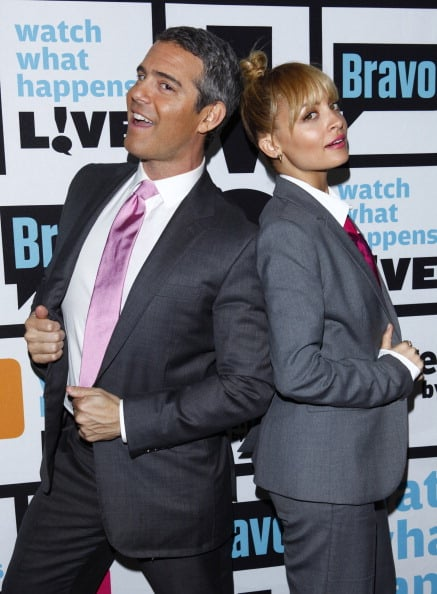 Nicole Richie and Andy Cohen hit the Bravo red carpet before kicking off season six of Watch What Happens Live in March.
