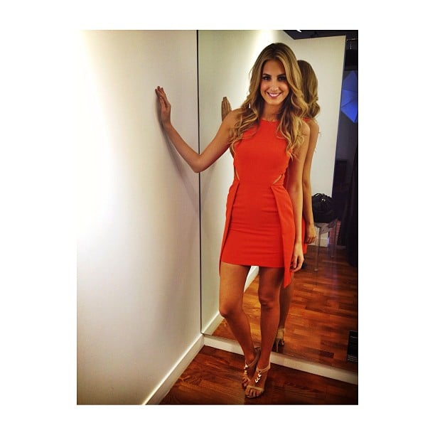 Laura Dundovic looked cute doing some work for Myer. Source: Instagram user lauradundovic