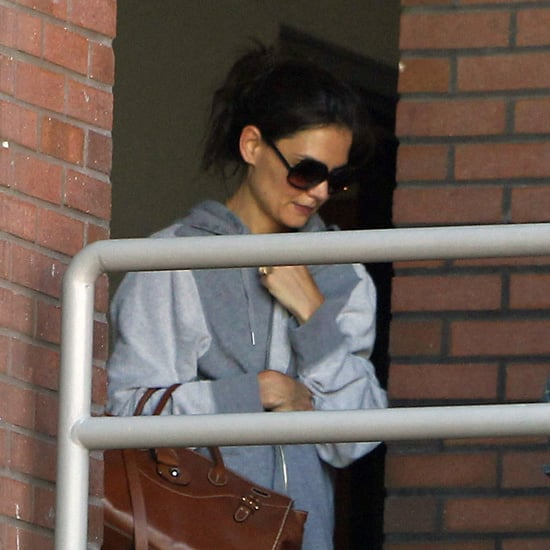 Katie Holmes Visits the Gym in LA Pictures