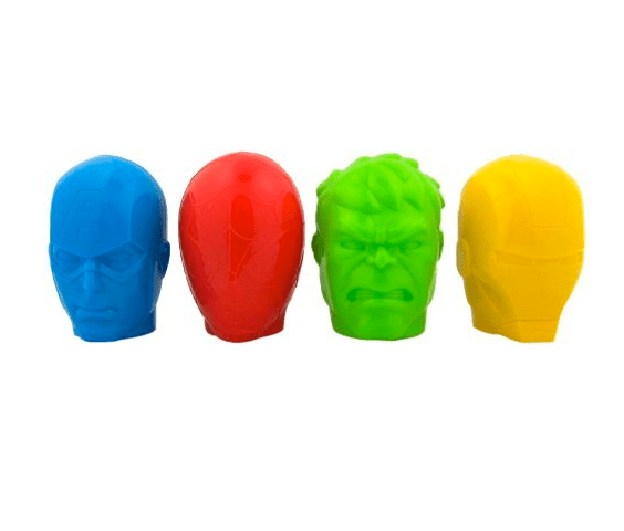 It's not Easter till you've gotten some superhero candy eggs ($11).