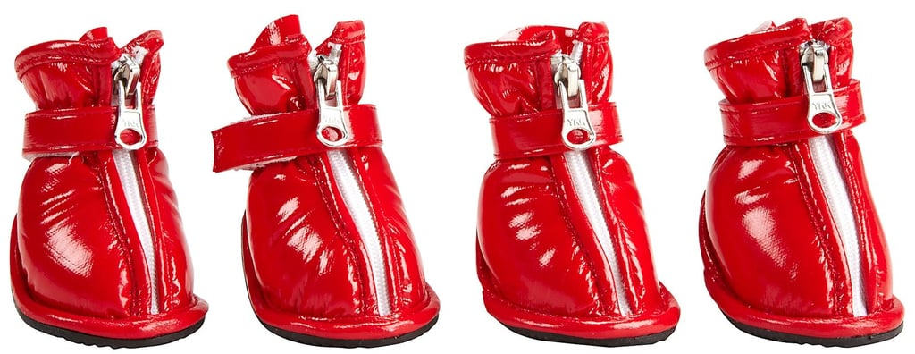 If Valentine's Day flowers also bring February showers, equip your pup with these red-hot rain boots (and you'll complete part of October's Wonder Woman costume as well!).