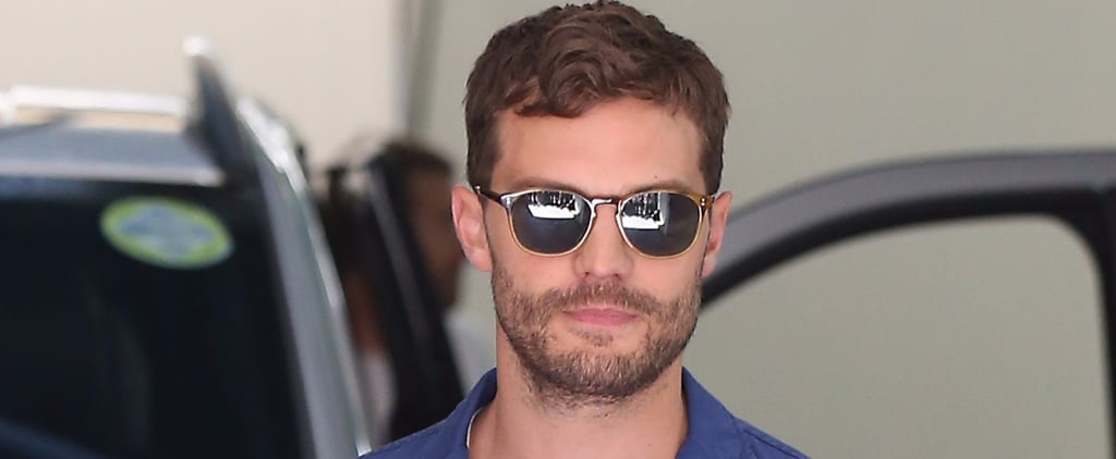 Jamie Dornan Manages to Make a Casual Outing in London Incredibly Sexy