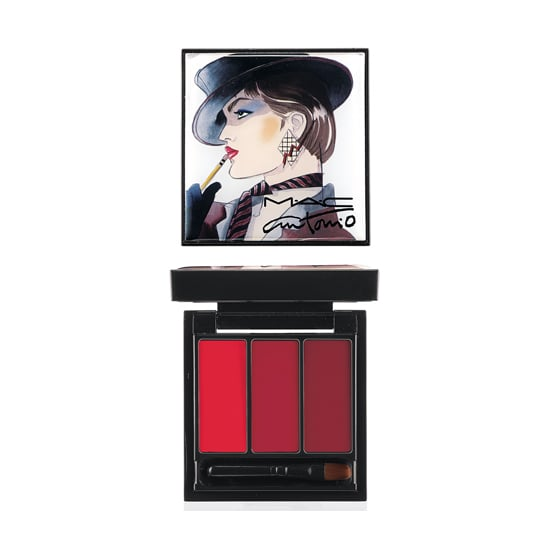 Red lipstick is a year-round necessity, but it seems like the crimson hue is just made for the colder months. The MAC Cosmetics Antonio Lopez Red Lip Palette ($28) has three different shades that you can layer together, or wear each hue a different day of the weekend.