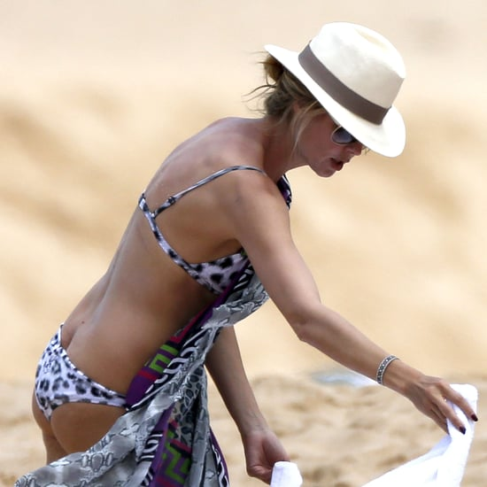 Heidi Klum Bikini Pictures in Hawaii