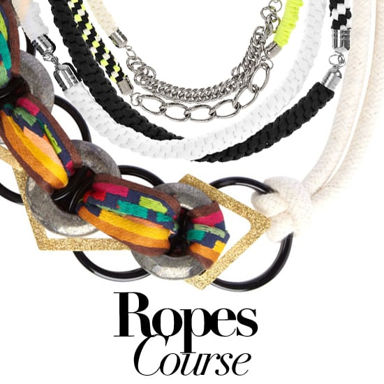 Shopping Rope Necklaces and Bracelets for Spring and Summer 2011