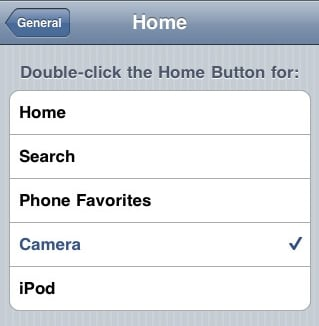 Geek Tip: Double-Click the iPhone's Home Button for Easy Access