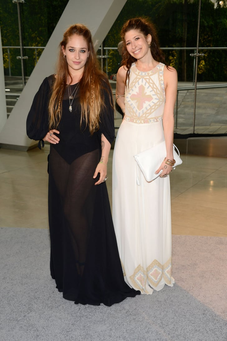 Jemima kirke arrived with jewelry designer pamela love for Pamela love jewelry designer