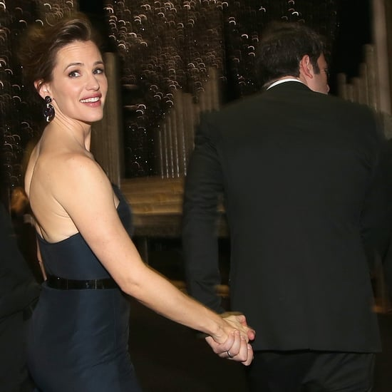 Jennifer Garner and Ben Affleck at the SAG Awards 2014