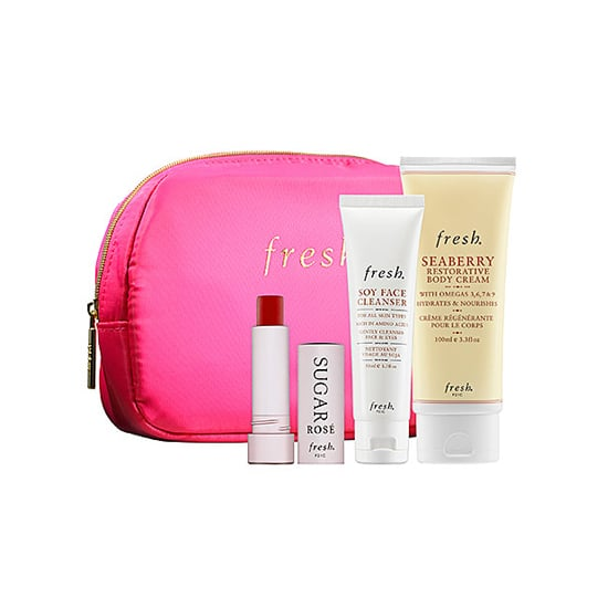 Hannukah coincides with Thanksgiving this year — which means holiday shopping commences now! Fresh is a favorite of any beauty junkie, so give the gift of soft, hydrated skin this year.TheSugar Rosé Royalty ($32) is a limited-edition set that comes with some of their bestselling favorites, including Seaberry Restorative Body Cream, Soy Face Cleanser, and the Sugar Rosé Lip Treatment that has a sheer rose tint. — Kirbie Johnson, beauty reporter