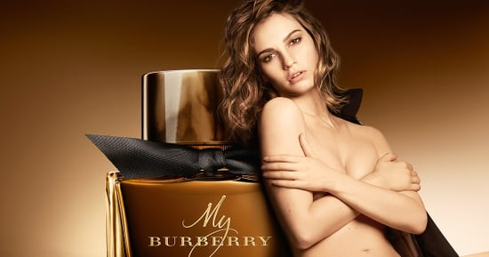 Lily James Strips Down for Sultry Burberry Fragrance Campaign