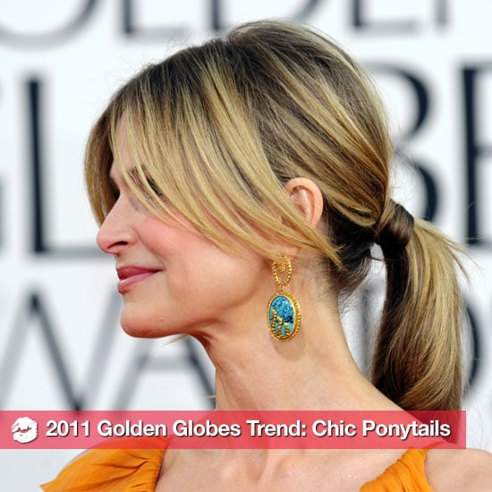 Ponytail Trend at the 2011 Golden Globes