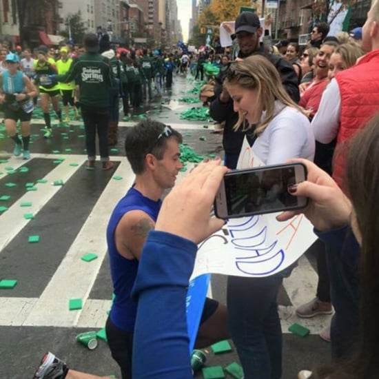 NYC Marathon Couple Seeks Their Perfect Engagement Photo