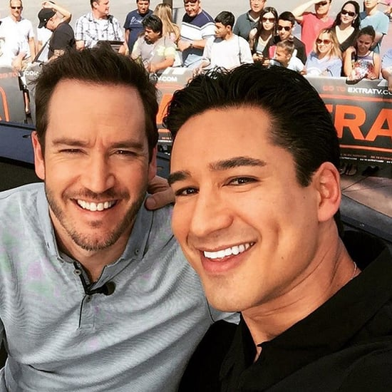 Mark-Paul Gosselaar on Extra With Mario Lopez 2015