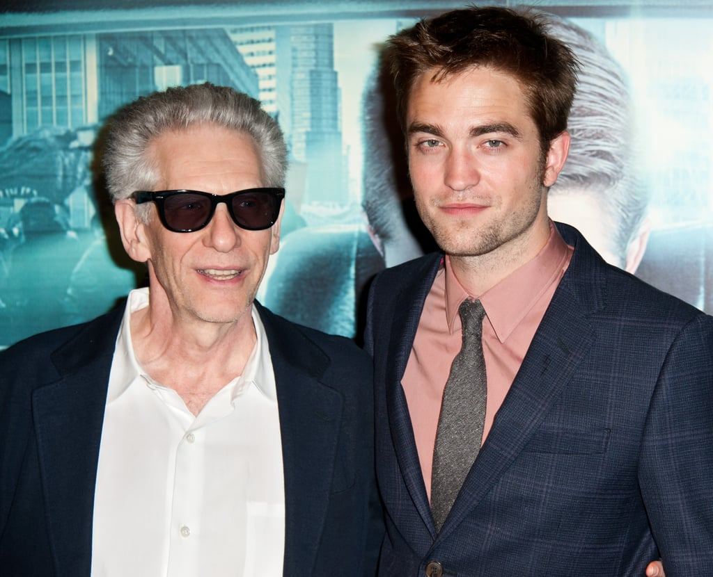 Robert Pattinson and David Cronenberg both looked handsome at the Cosmopolis premiere at Le Grand Rex.