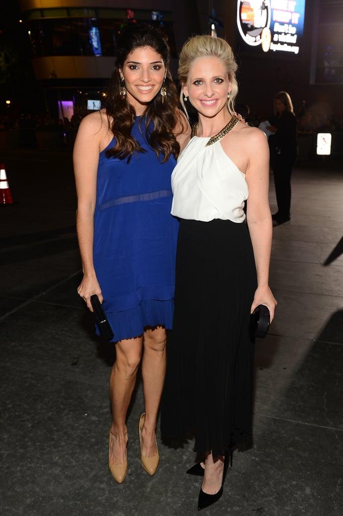 Amanda Setton and Sarah Michelle Gellar