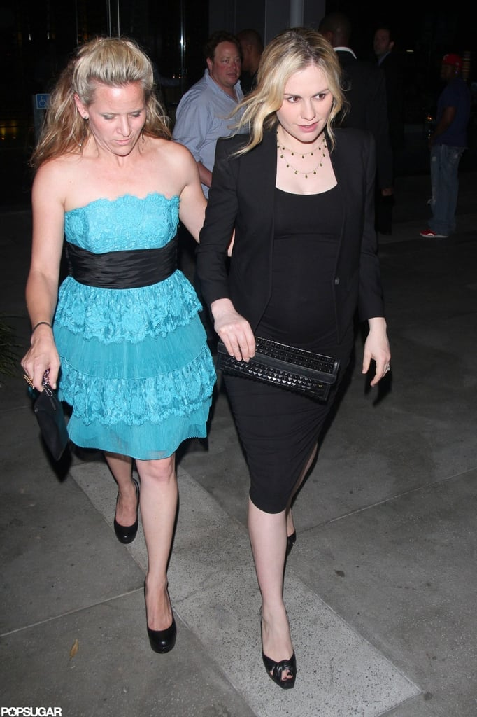 Anna Paquin walked towards her car after the True Blood wrap party in West Hollywood.