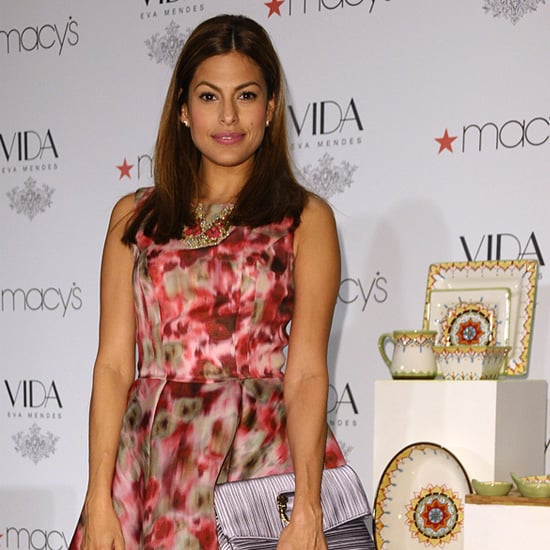 Eva Mendes Dresses and Shoes