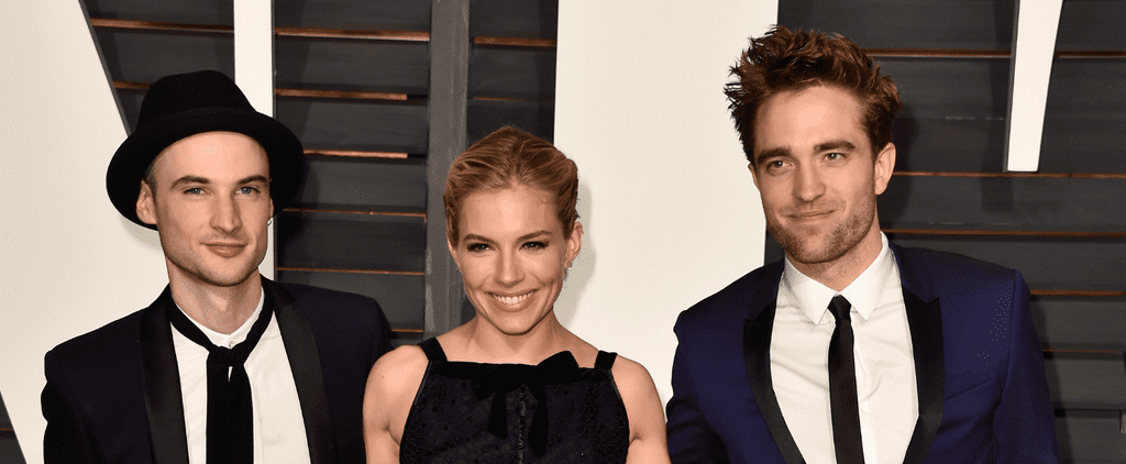 Robert Pattinson Rolls With His Fellow Brits to Vanity Fair's Afterparty