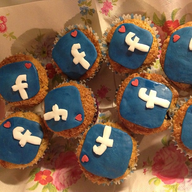 Because Facebook Cupcakes Are Just as Essential