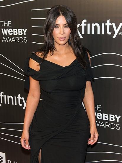 Kim Kardashian West Promises 'Nude Selfies Until I Die' in Webby Awards Acceptance Speech