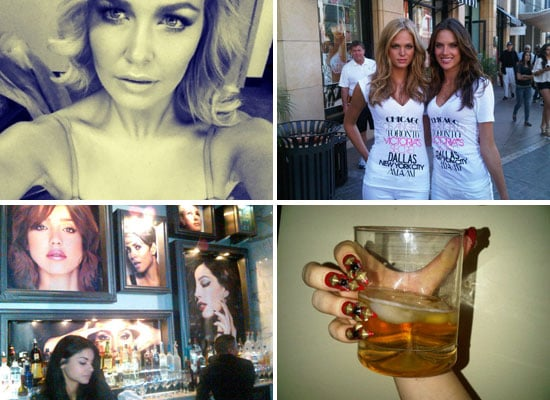 Celebrity Beauty Twitter Pictures from Lady Gaga, Hilary Rhoda  & More