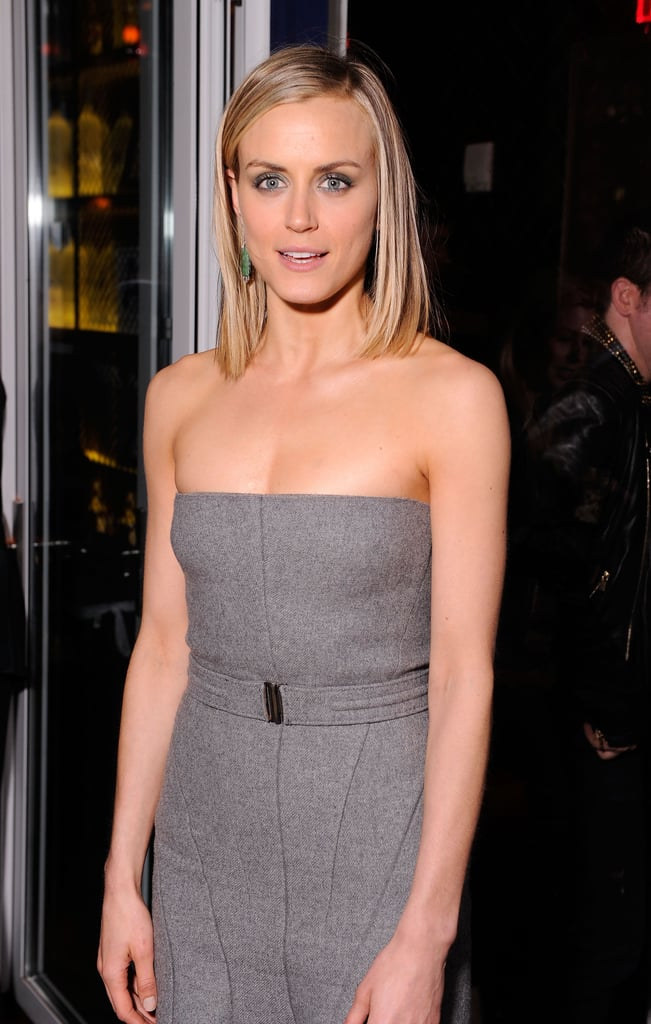 Taylor Schilling was in attendance at the Cinema Society and Men's Health screening of The Lucky One in NYC.