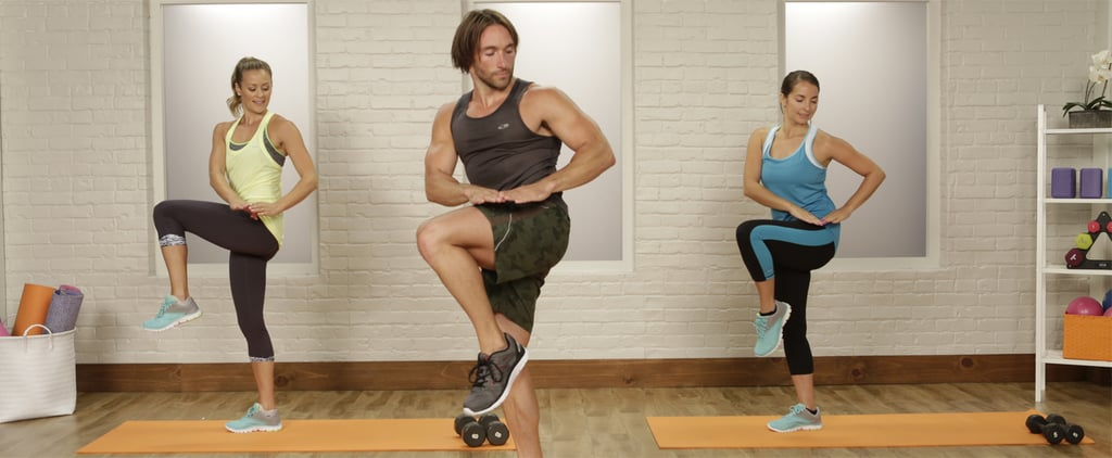 20 Minutes and Done! An At-Home Workout That'll Leave You Dripping in Sweat