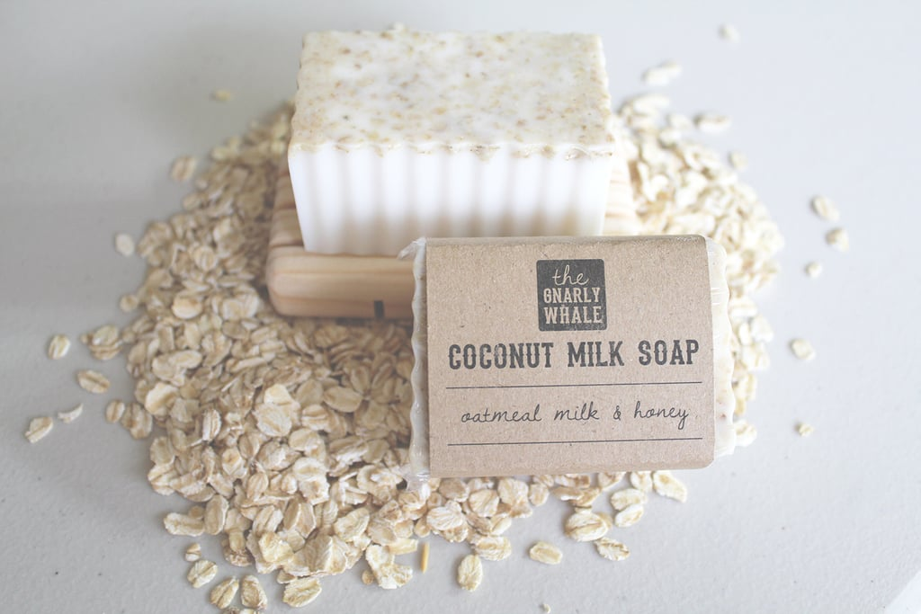 Oatmeal Milk and Honey Coconut Milk Soap Bar ($6)