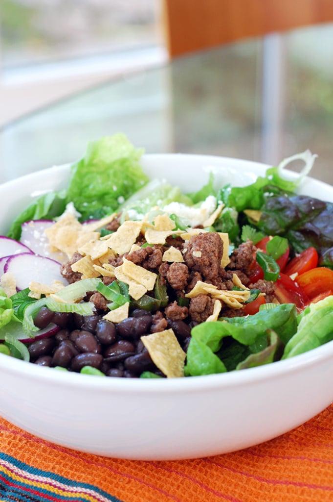 Brown-Bag Transformation: Taco Salad