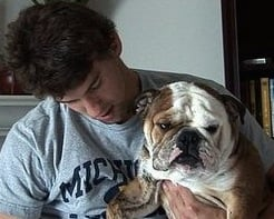 Michael Phelps Shares More Pictures of Smooshy Herman!