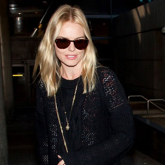 Kate Bosworth With Michael Polish at LAX Pictures