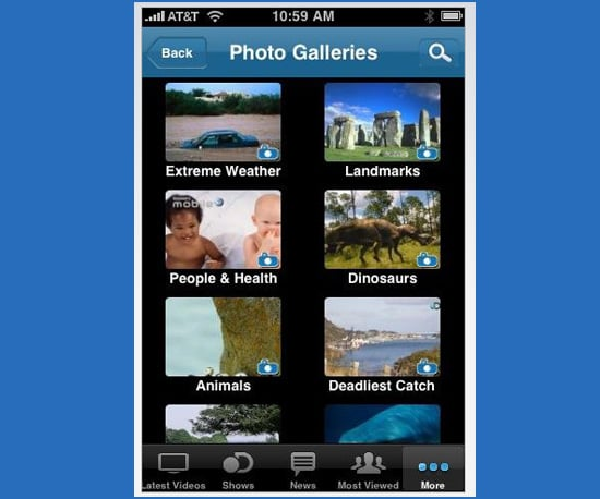 Discovery Channel Application