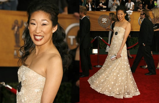 SAG Awards Red Carpet: Sandra Oh