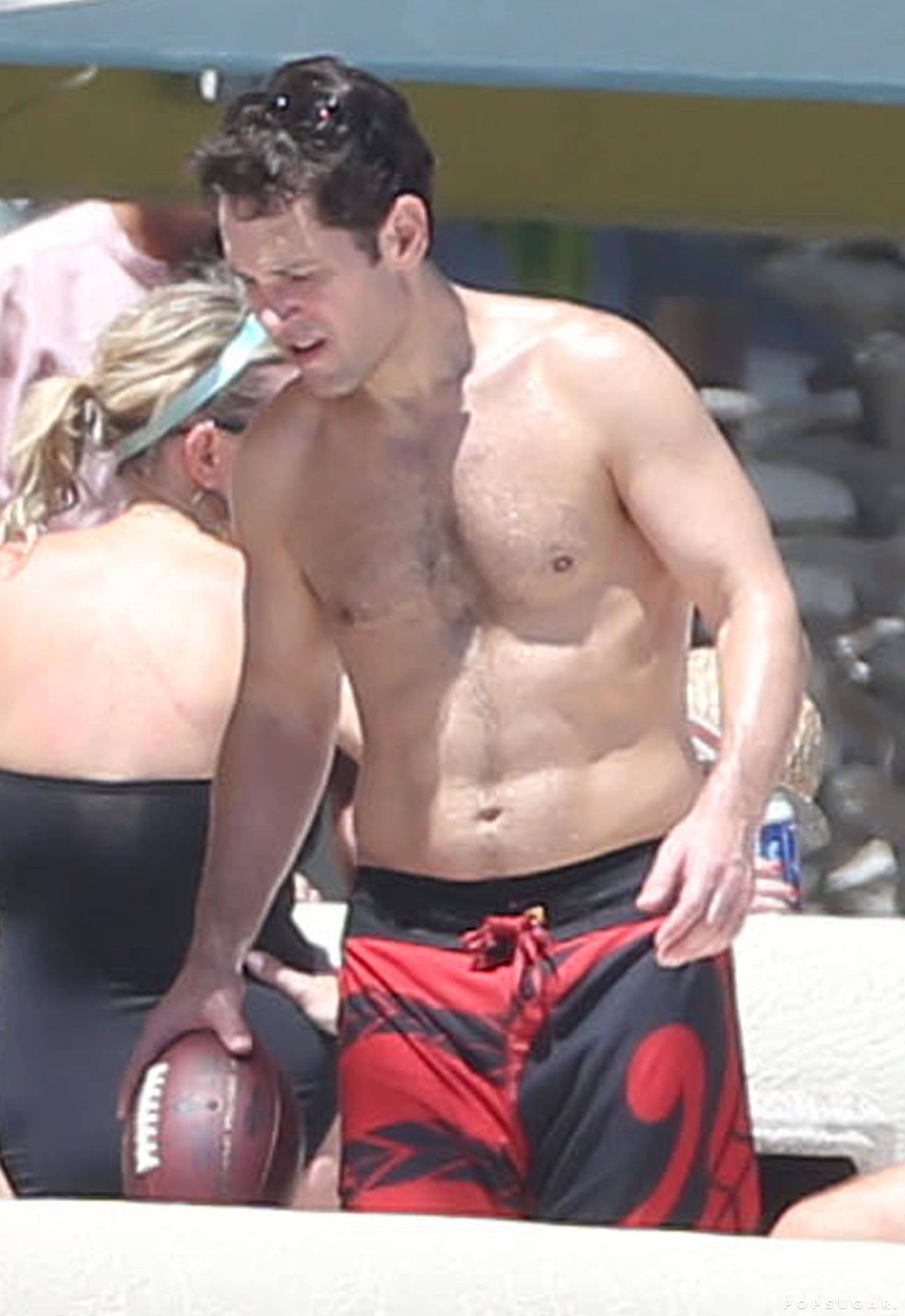 Just So You Know, Paul Rudd Looks Really Good Shirtless