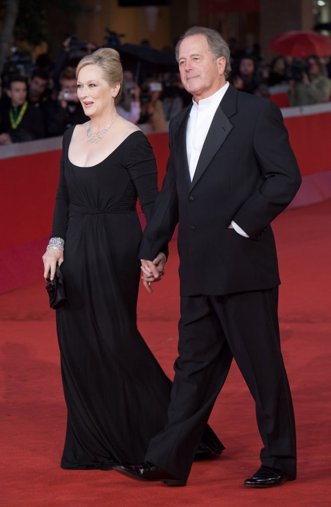 She and Don were in step while walking the red carpet at the Rome Film Festival in 2009.
