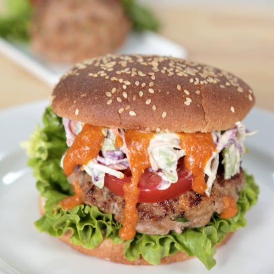 Buffalo Turkey Burger | Food Video