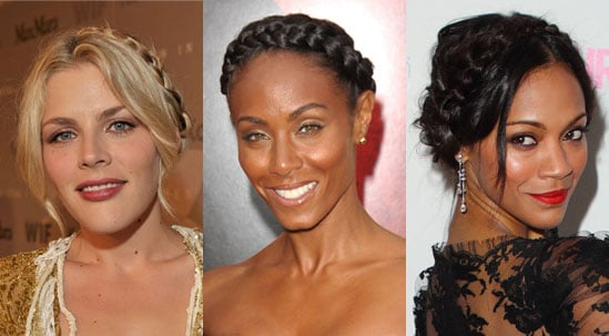 Pictures of Celebrities Wearing Headband Braid