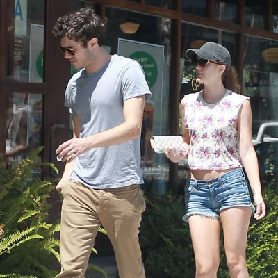 Adam Brody and Leighton Meester on a Date in LA