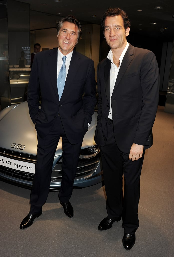Clive Owen joined Bryan Ferry in London.
