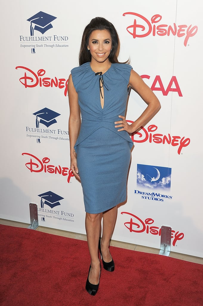 A powder blue Moschino for the 2011 Stars Gala.