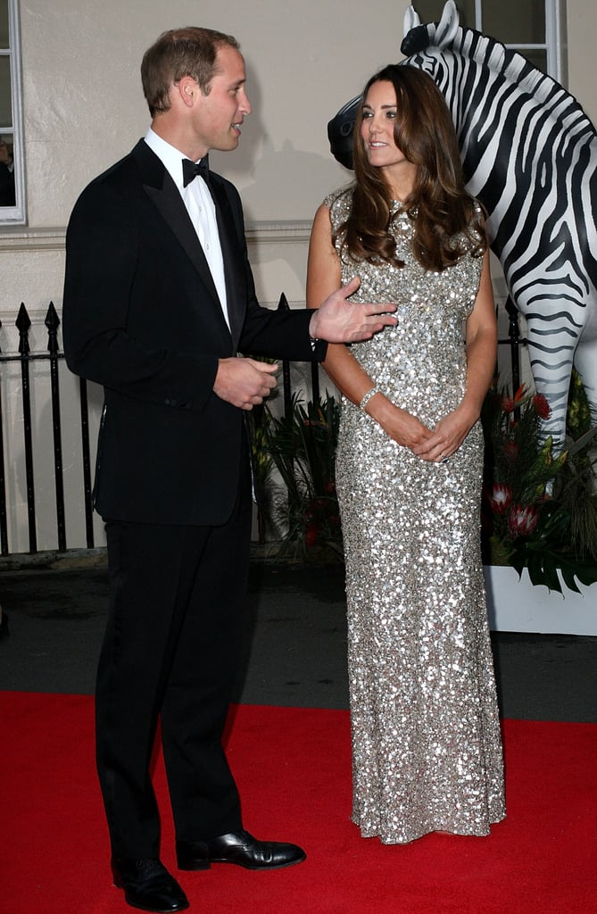 Kate Middleton accompanied Prince William to the Tusk Conservation Awards in London.