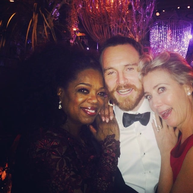 He Posed With Oprah and Emma Thompson