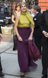 Queen Máxima Dared to Pair These 2 Colors Together For a Formal Event - and It Totally Worked