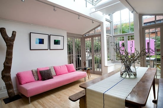 Coveted Crib: Skylit and Vibrant in London