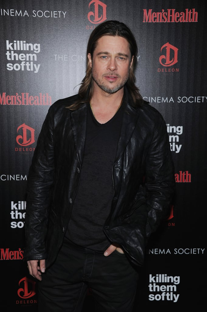 Brad Pitt was out in NYC.