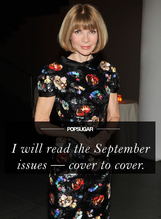 As far as we're concerned, there's no book club or reading list as essential as fashion magazines during this pivotal month!