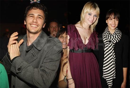 Photos of Harvey Weinstein's Election Night Party, Including James Franco, Jessica Alba, Padma Lakshmi, Taylor Momsen
