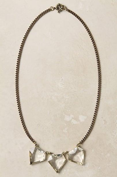 Anthropologie Hailstone Necklace