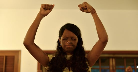 Fearless Acid Attack Survivor Becomes Model For Indian Sari Retailer