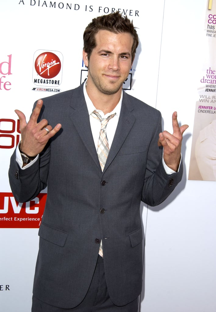 When He Posed Like This at the 2003 Young Hollywood Awards